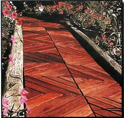 Garden Path With Wood Pathways Garden With Wooden Garden Path